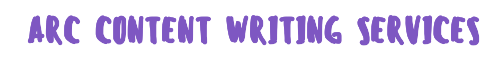 Arc Content Writing Services
