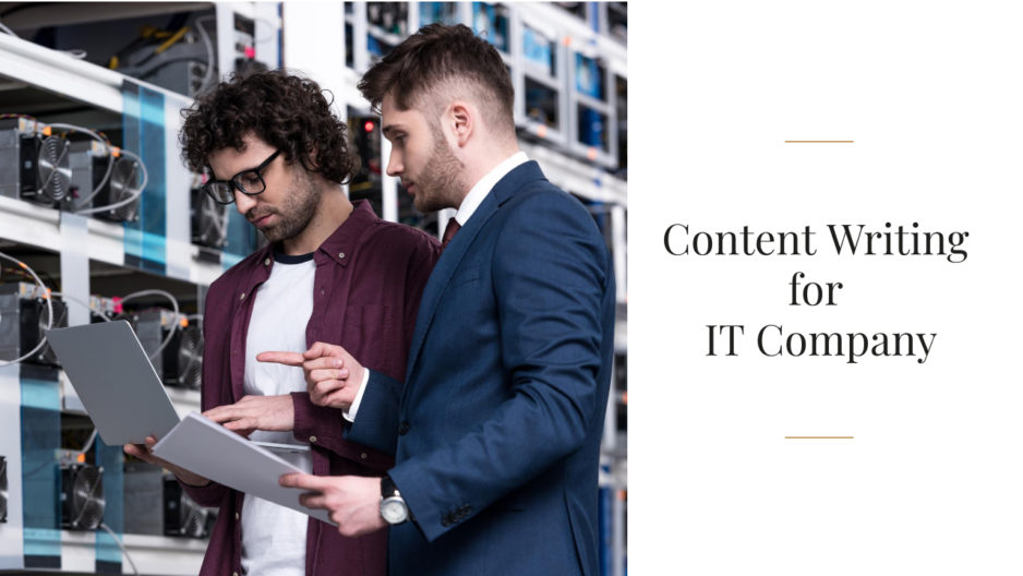 Content Writing for IT Company