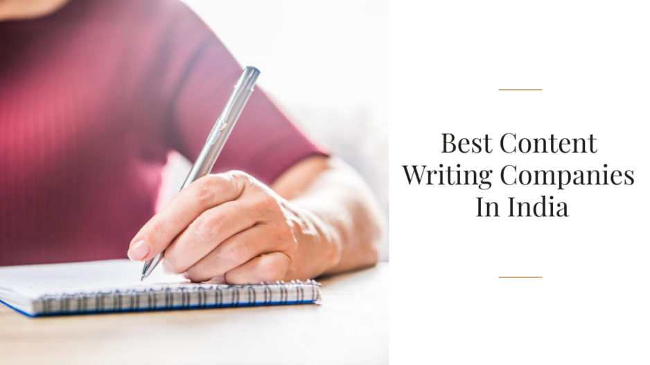 Best Content Writing Companies In India