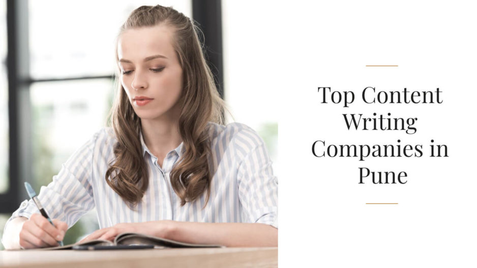 Top Content Writing Companies in Pune