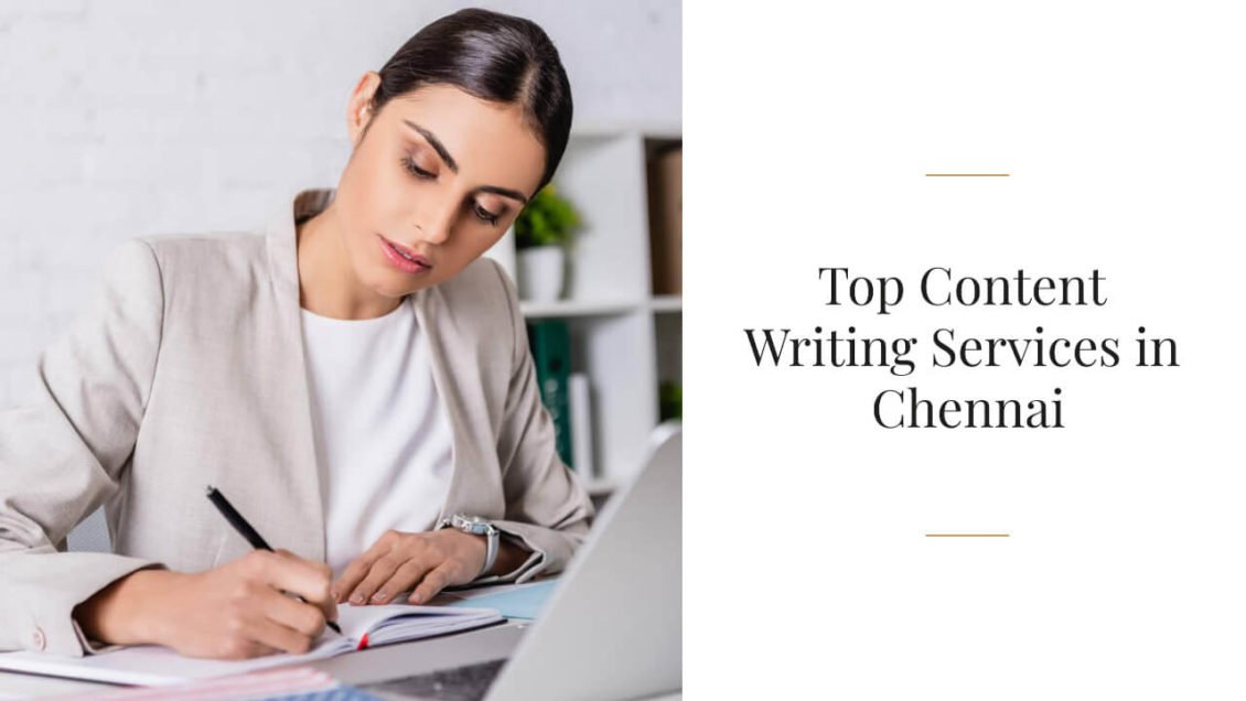 Top Content Writing Services in Chennai