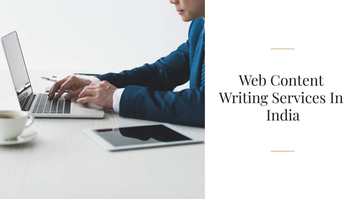 Web Content Writing Services In India