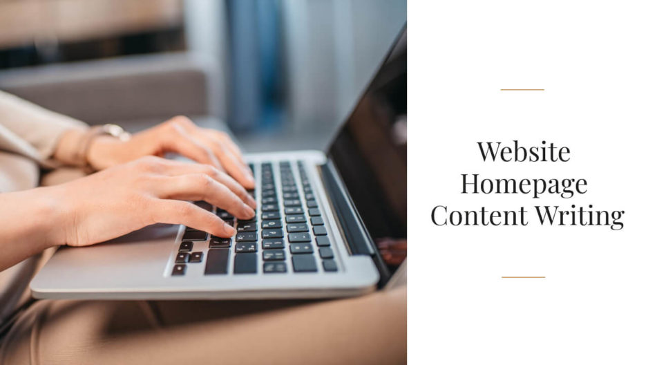 Website Homepage Content Writing